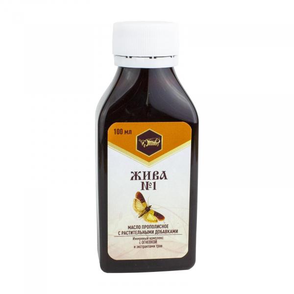 Пищевое масло для иммунитета «ЖИВА №1»