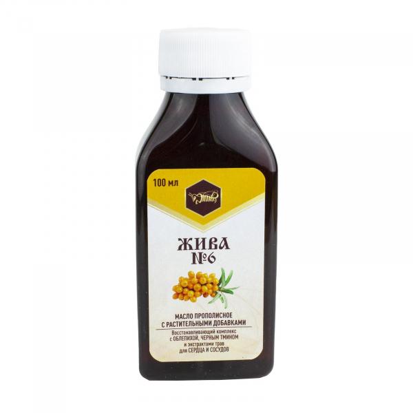 Пищевое масло для сердца и сосудов «ЖИВА №6»
