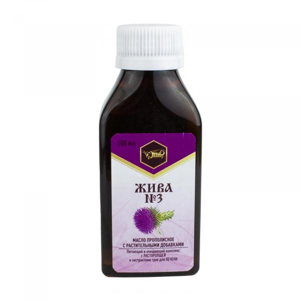 Пищевое масло для печени «ЖИВА №3»