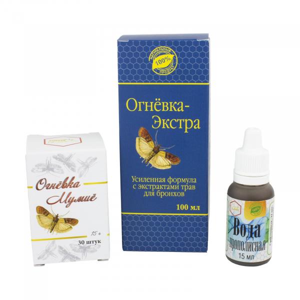 При простуде и гриппе набор «ТАЧ - Осень лайт»